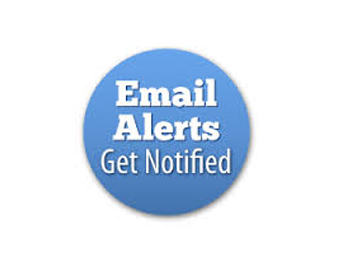 email alerts get notified