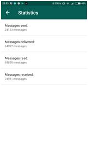 WhatsApp Business Statistics