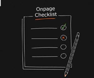 SEO Onpage Checklist 300x250
